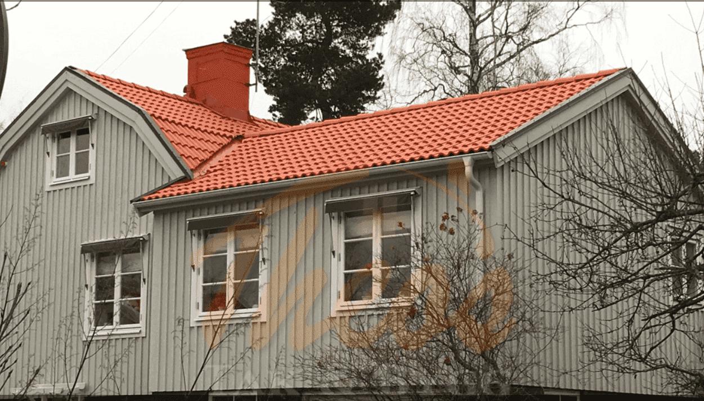 """Referensjobb """"Takomläggning villa i Mälarhöjden"""" utfört av Theos Tak & Bygg AB"""