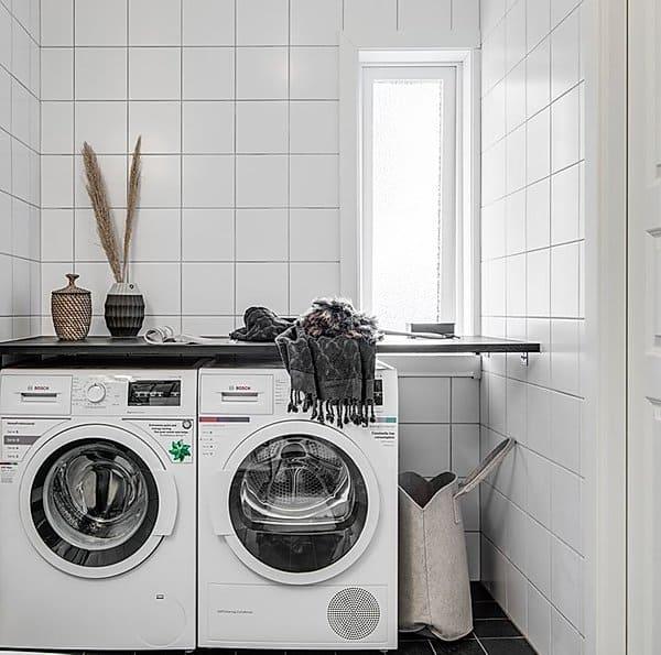 """Referensjobb """"Renoverad tvättstuga,"""" utfört av adiHERO AB"""