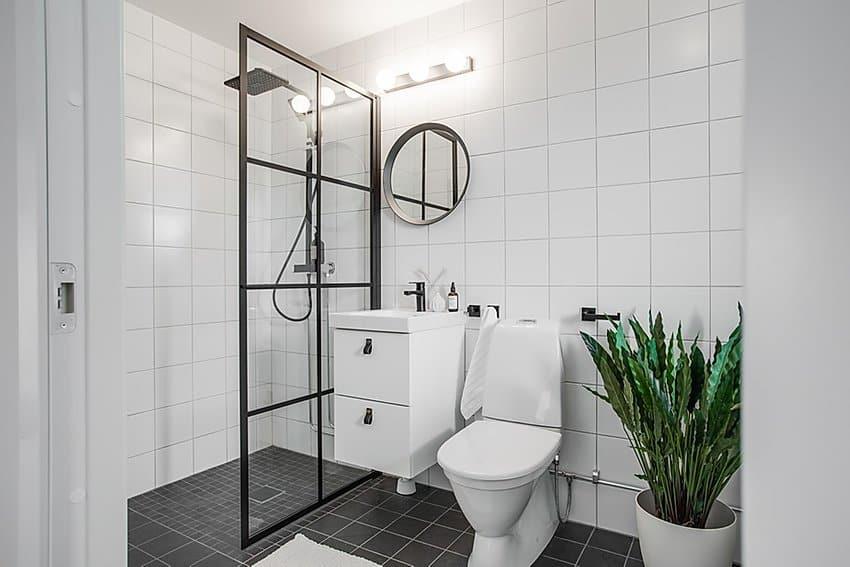 "Referensjobb ""Renoverat badrum,"" utfört av adiHERO AB"
