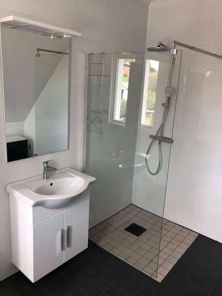 """Referensjobb """"Total badrumsrenovering"""" utfört av FA Väst Byggproffs"""