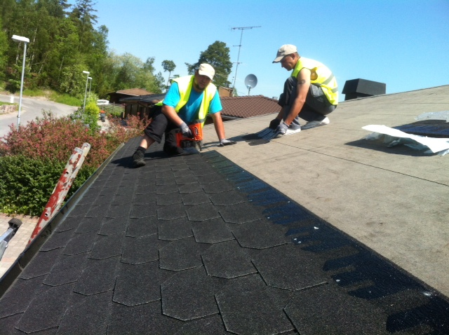 "Referensjobb ""Nytt tak"" utfört av Janssons tak & fasad AB"