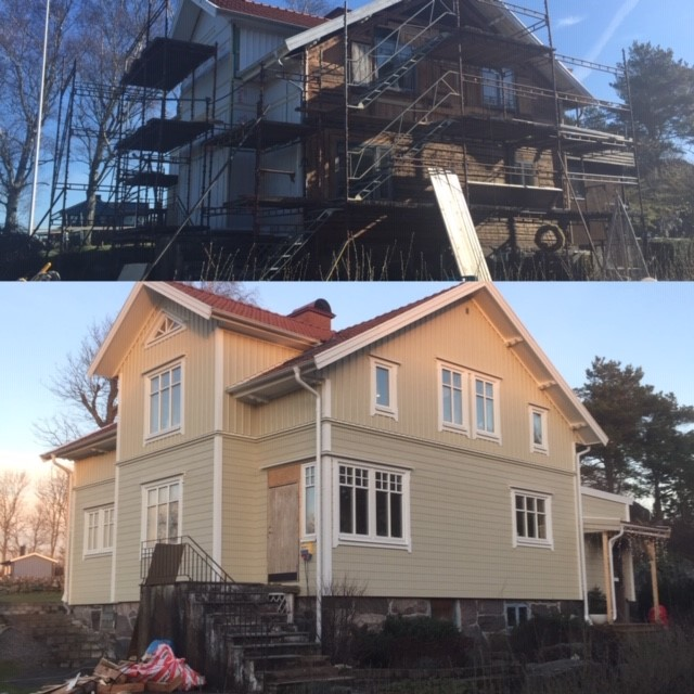 """Referensjobb """"Totalrenovering i Kareby"""" utfört av Leif Andreasson Bygg AB"""