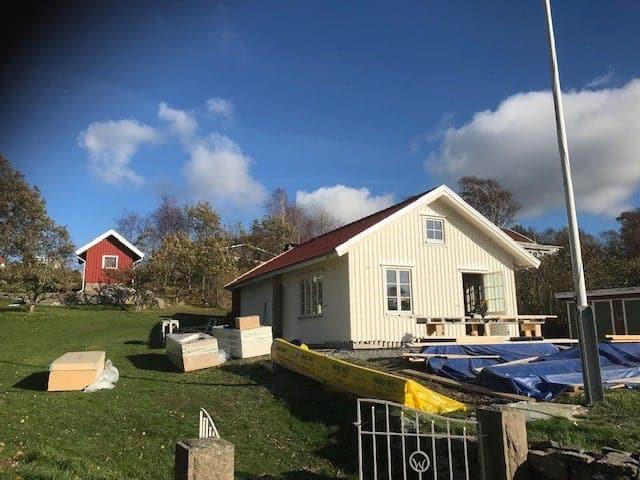"""Referensjobb """"Nybyggnation i Tjuvkil"""" utfört av Leif Andreasson Bygg AB"""