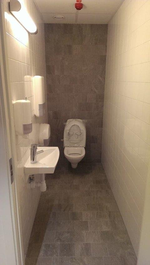 "Referensjobb ""Toalett"" utfört av Romdrex Bygg AB"