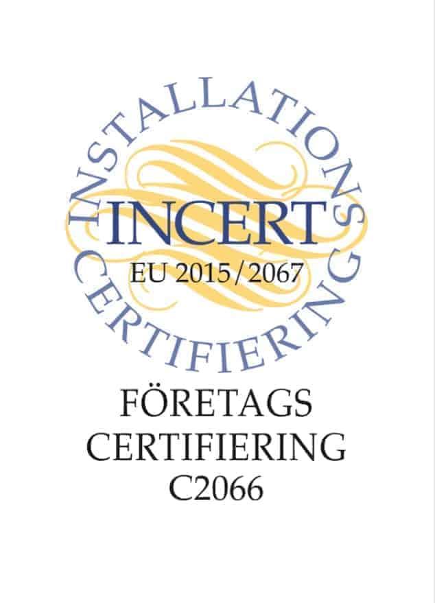 """Referensjobb """"Certifierad kyltekniker"""" utfört av ELEKTRIKER TDT AB"""