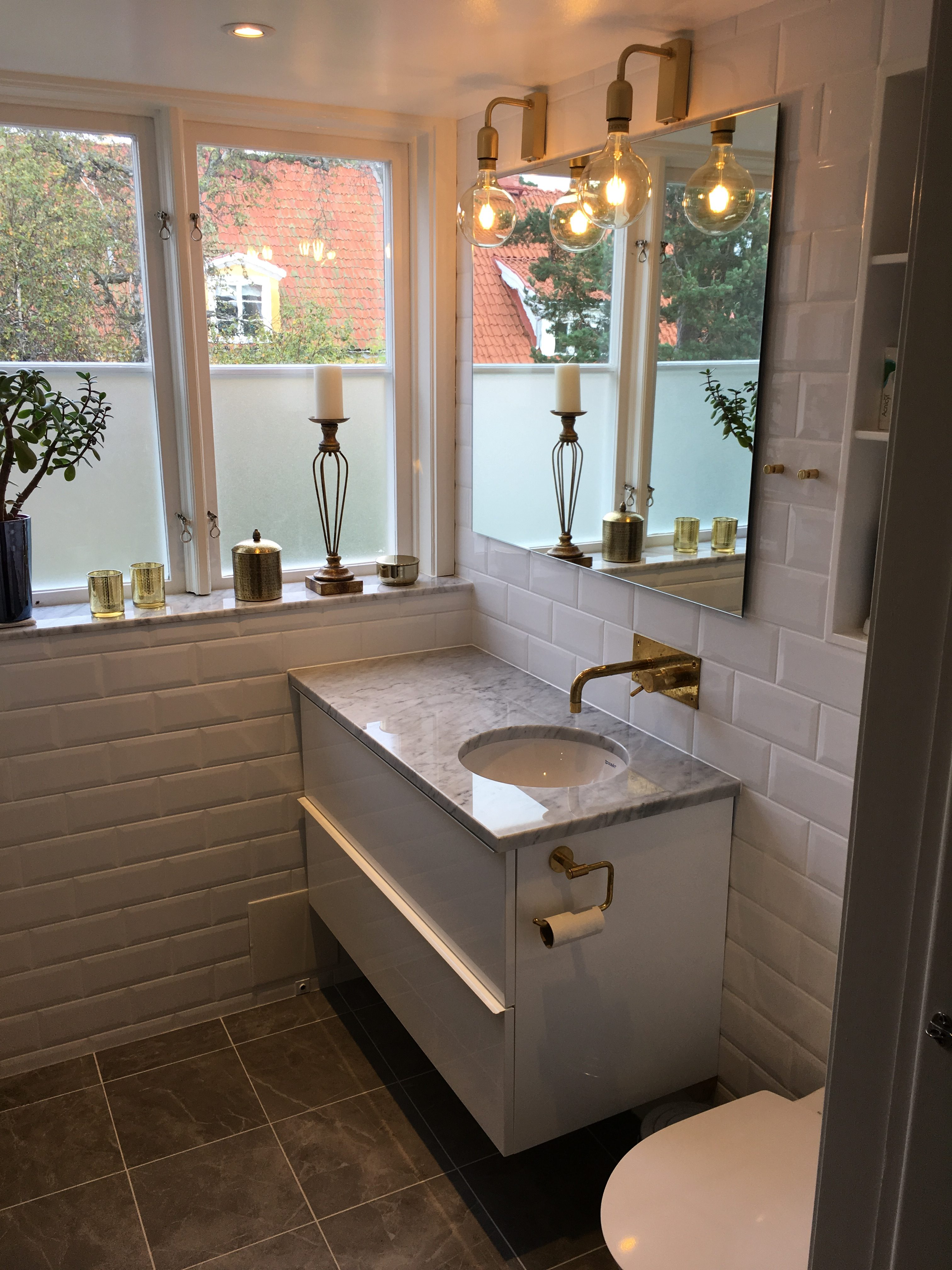"""Referensjobb """"Underbara badrum"""" utfört av CLV Byggentreprenad AB"""