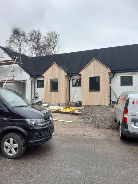 """Referensjobb """"Nybyggnation """" utfört av Byggbolaget Blekinge AB"""