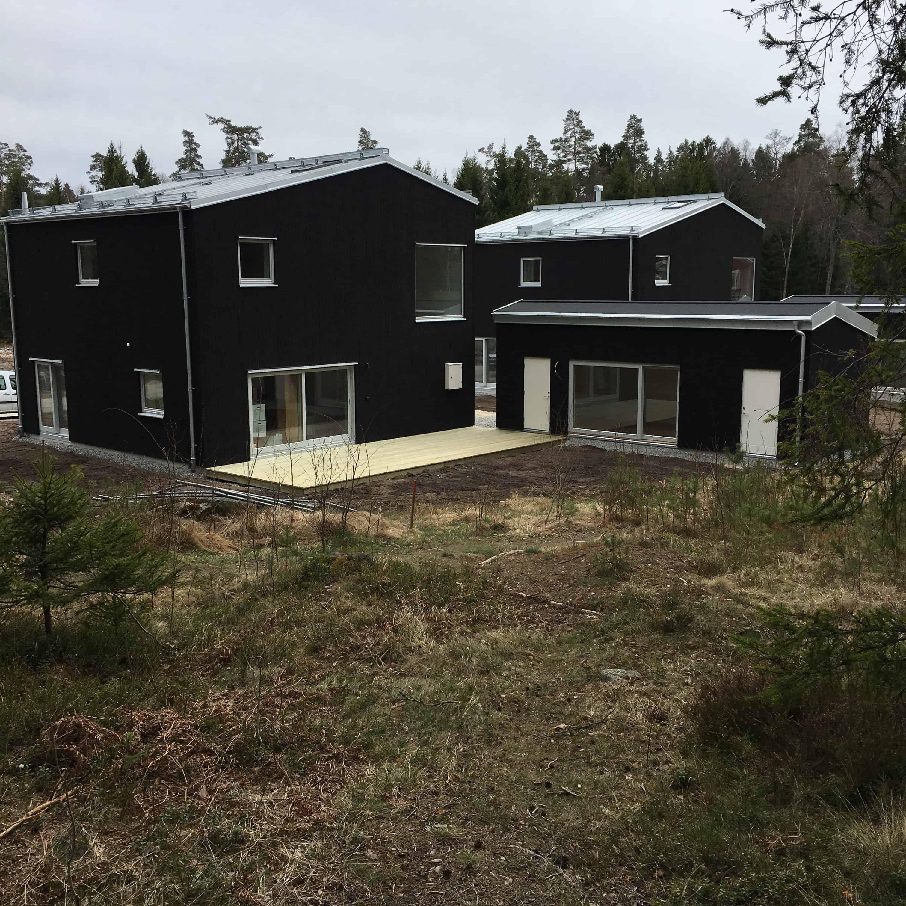 """Referensjobb """"Hus Åkersberga """" utfört av Gregor Entreprenad i Åkersberga AB"""