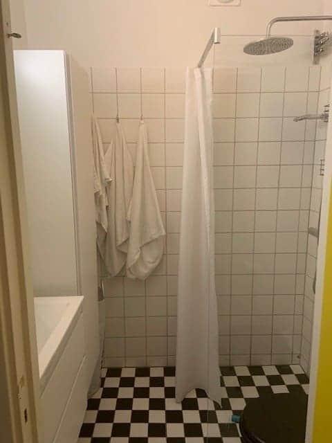 """Referensjobb """"Badrumsrenovering"""" utfört av Vikströms Bygg & Kakel AB"""