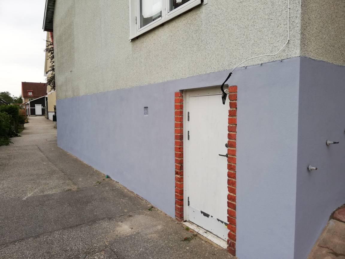 """Referensjobb """"Renovering av fasad"""" utfört av NyFasad Syd AB"""