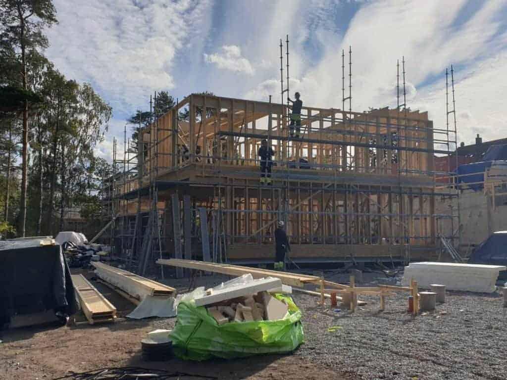 """Referensjobb """"Byggprojekt, Hässelby Strand"""" utfört av West Trade Corporation Stockholm AB"""