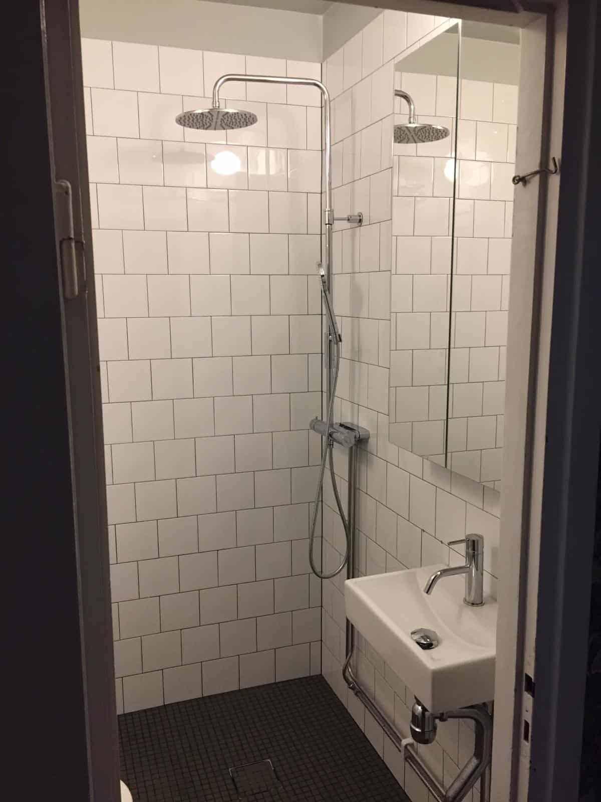 """Referensjobb """"Badrumsrenovering"""" utfört av City bygg & transport i Härryda"""