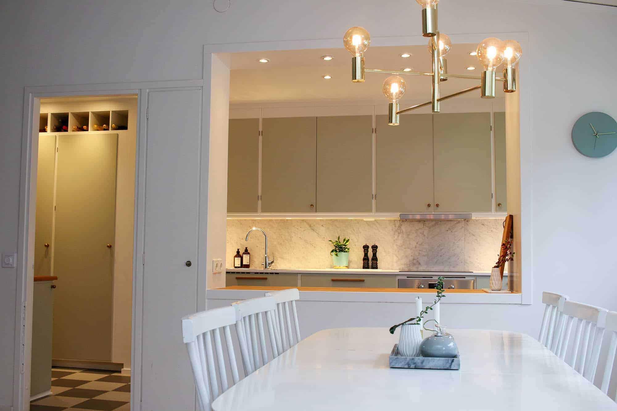 """Referensjobb """"Köksrenovering."""" utfört av BZ Home Design"""