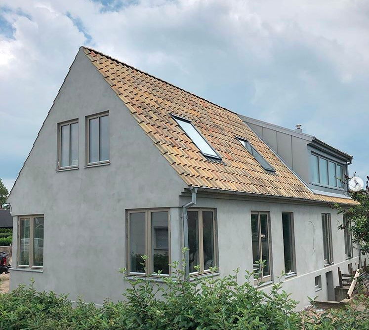 """Referensjobb """"Byggnation, Lerberget"""" utfört av Löfqvist Bygg & Entreprenad AB"""