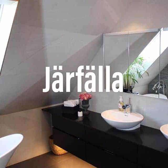 """Referensjobb """"Badrumsrenovering Järfälla."""" utfört av ROT-Ville Aktiebolag"""