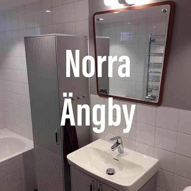 "Referensjobb ""Enkelt badrum i retroanda."" utfört av ROT-Ville Aktiebolag"