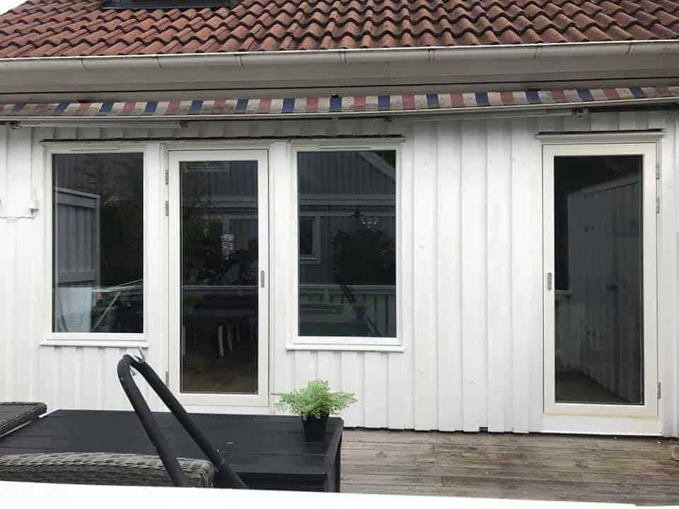 """Referensjobb """"Nya fönster och dörr"""" utfört av DRM Bygg AB"""
