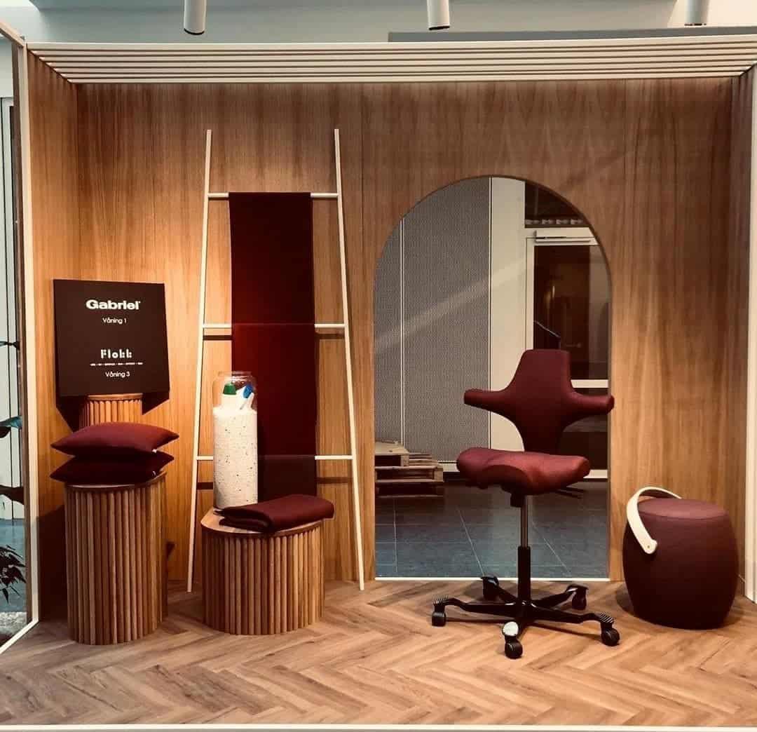 """Referensjobb """"Showroom"""" utfört av Björnberg Interior Designs"""