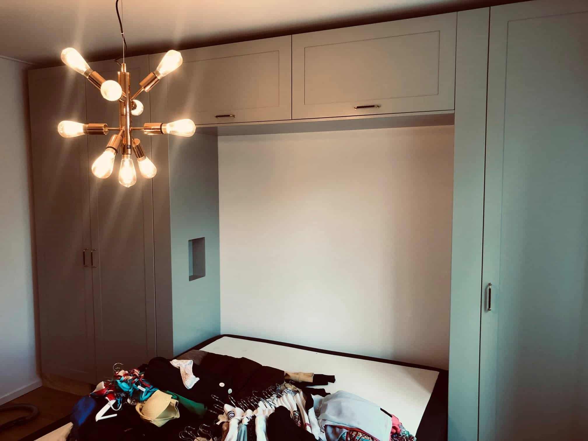 """Referensjobb """"Platsbyggd garderob"""" utfört av Björnberg Interior Designs"""