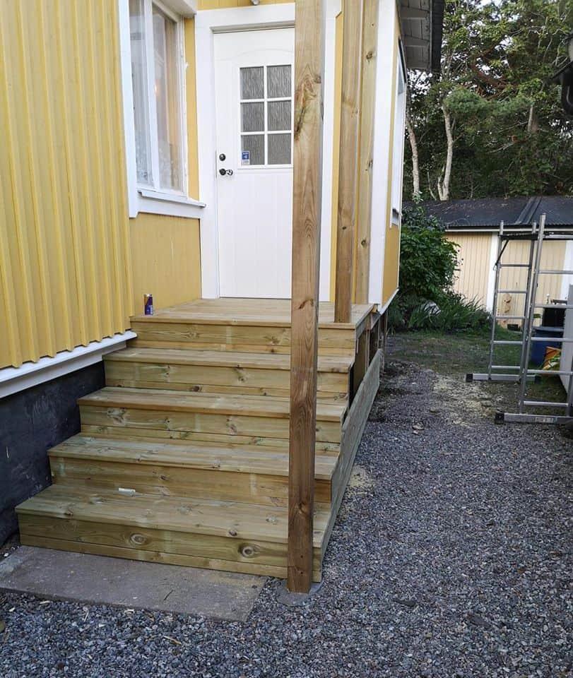 """Referensjobb """"Ny trappa"""" utfört av SUL AB"""