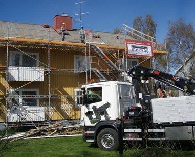 """Referensjobb """"Byta tak"""" utfört av RTH Bygg AB"""