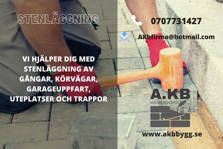 """Referensjobb """""""" utfört av A.KB Måleri och Bygg"""