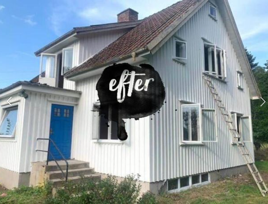 """Referensjobb """"Efter målning"""" utfört av A.KB Måleri och Bygg"""