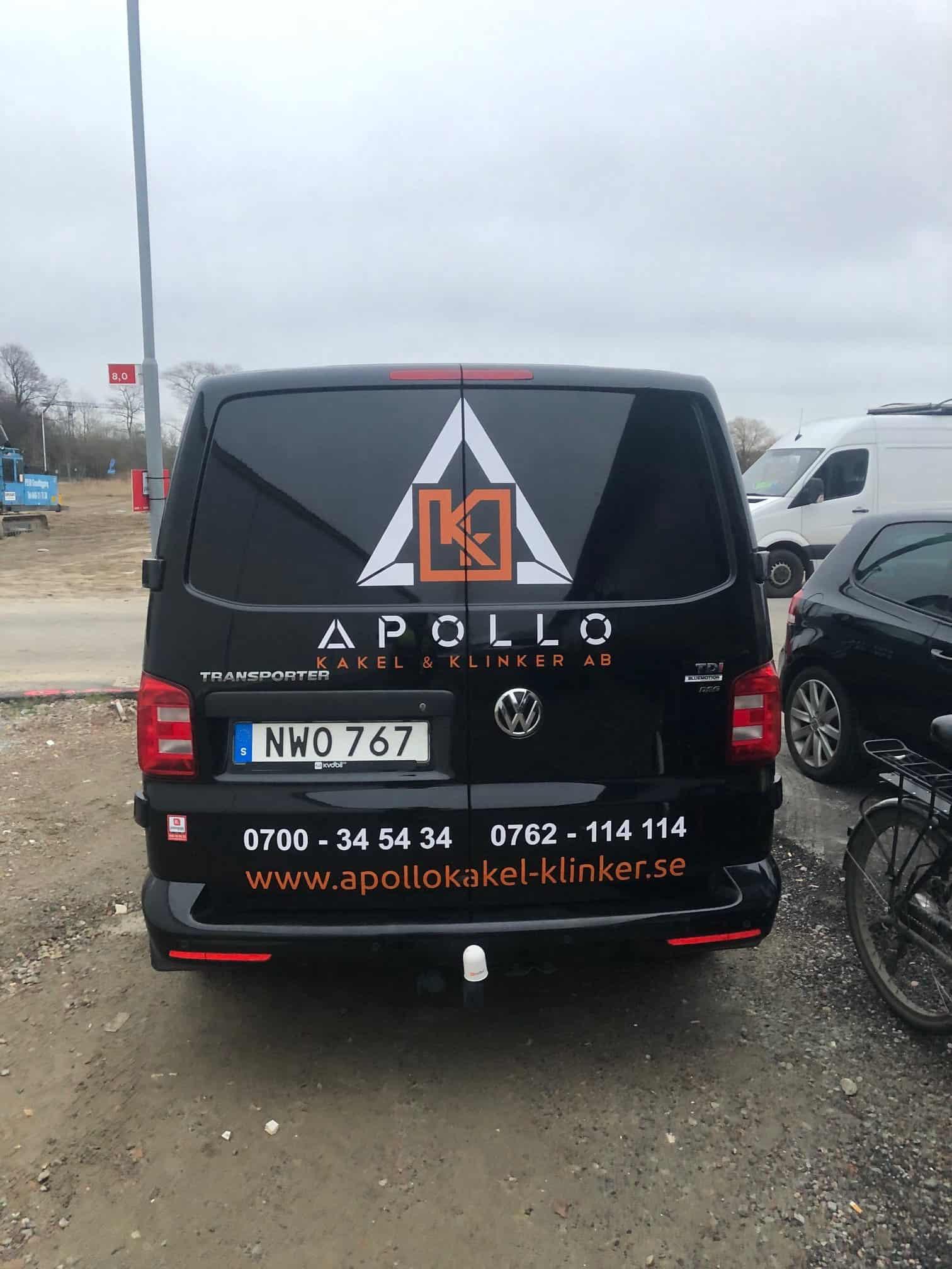 """Referensjobb """""""" utfört av Apollo Kakel & Klinker AB"""