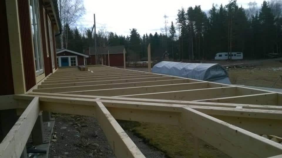 """Referensjobb """"Altan bygge."""" utfört av Byggtill i Gävle AB"""