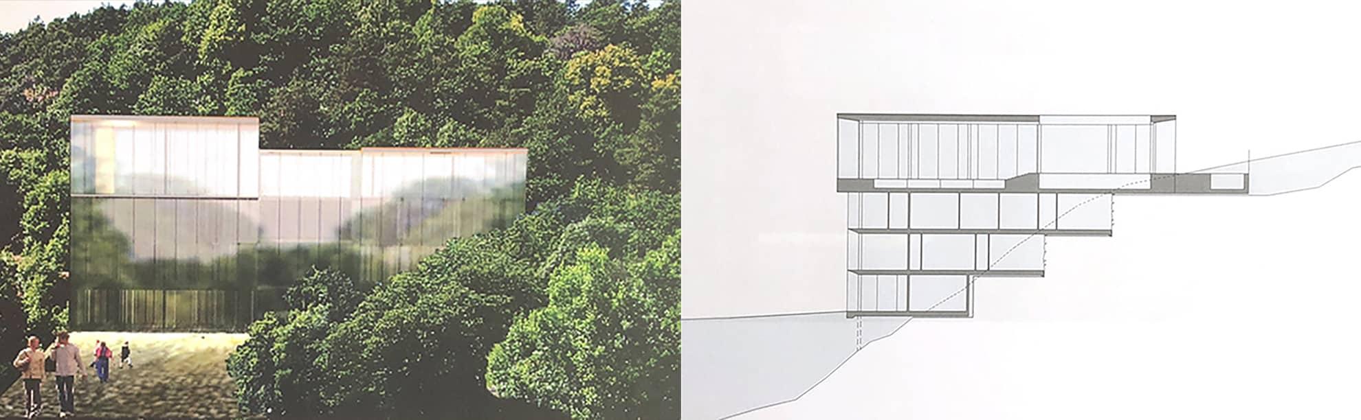 """Referensjobb """"Corpus Spiritas"""" utfört av Tidlös Arkitektur Anna Duell AB"""