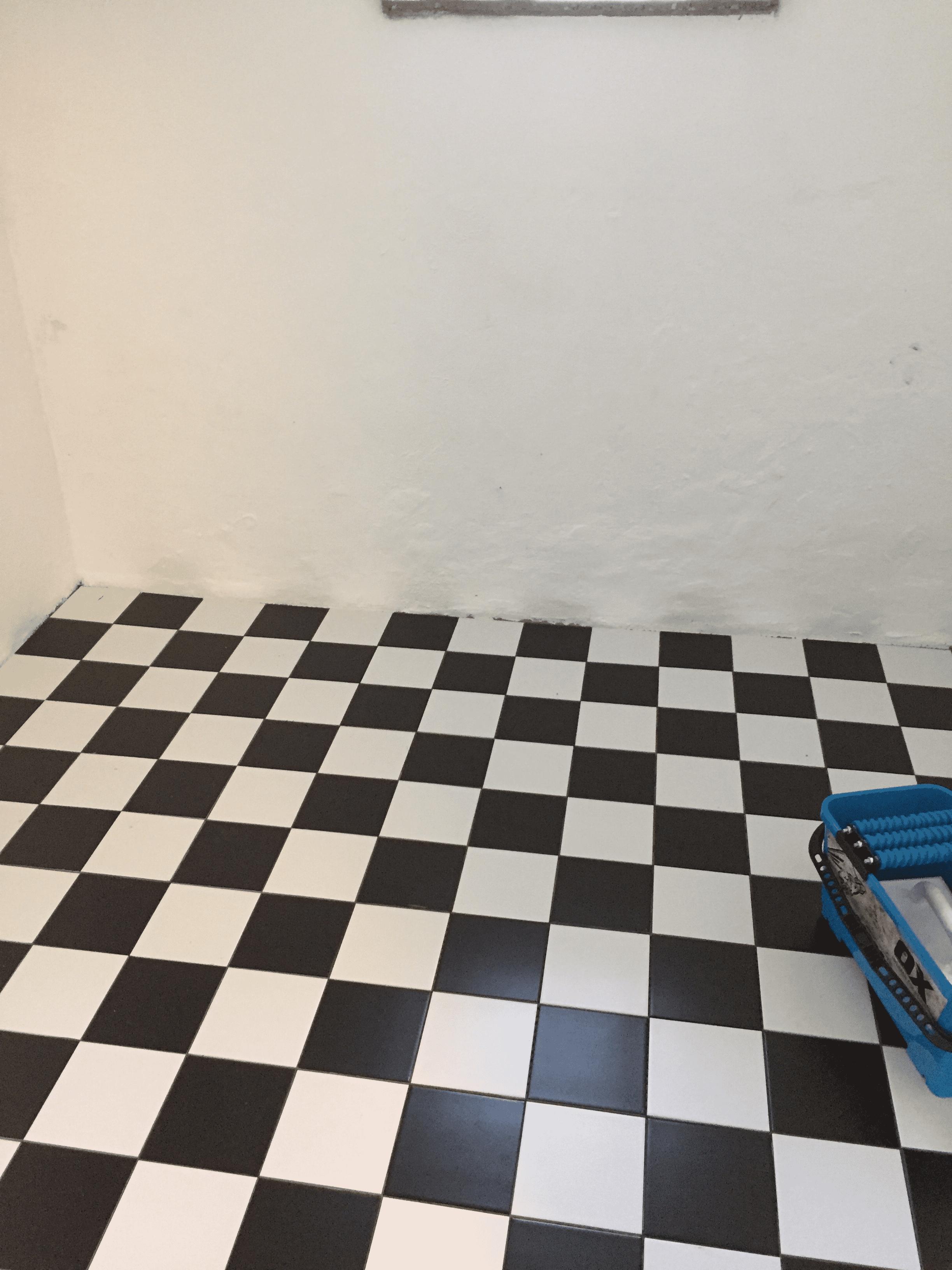 """Referensjobb """"Golvläggning i tvättstuga"""" utfört av Ahlkvist Bygg & Service"""