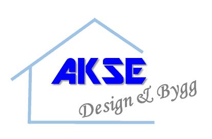 Logotyp för AKSE Design & Bygg Handelsbolag