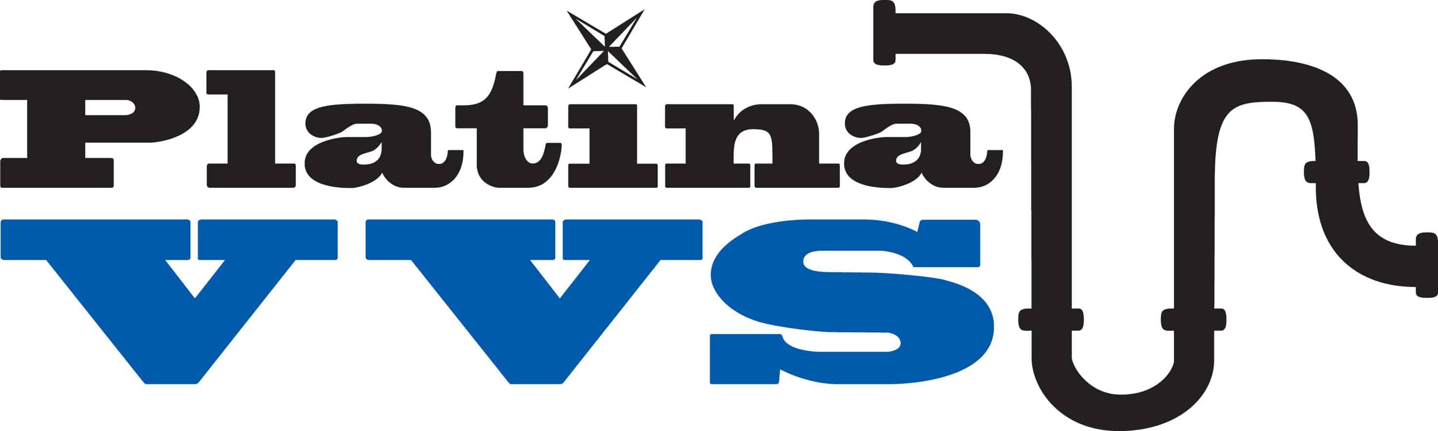 Logotyp för Platina VVS AB