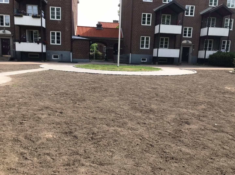 """Referensjobb """""""" utfört av Svantesson Mark och Trädgård AB"""