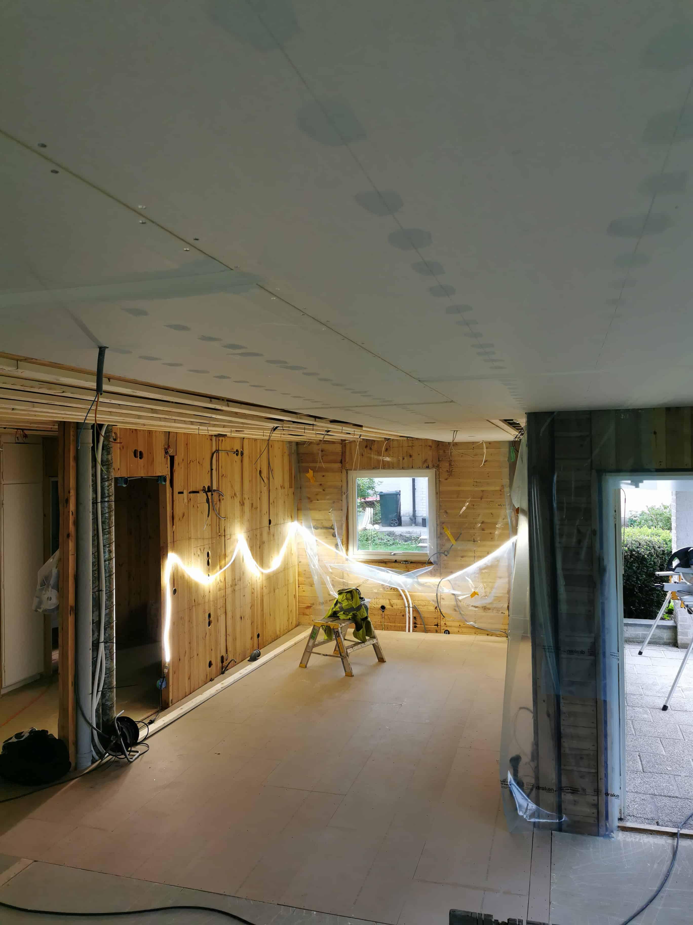 """Referensjobb """"Renovering av villa i Floda (BILD 1/6)"""" utfört av J Lindqvist Bygg"""