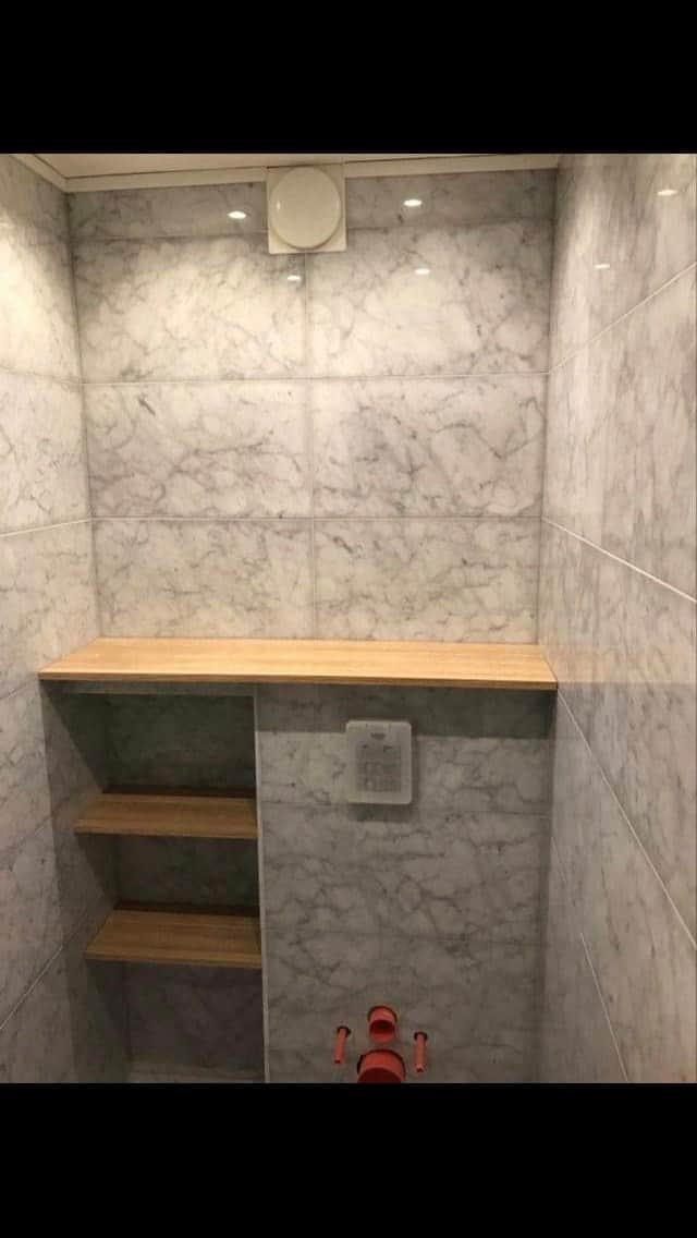 """Referensjobb """"Renovering gästtoalett"""" utfört av Byreda Bygg & Renovering"""