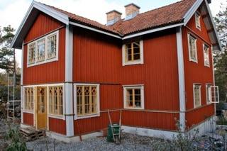 """Referensjobb """"Husbyggnation Ingarö."""" utfört av Lanner Bygg AB"""