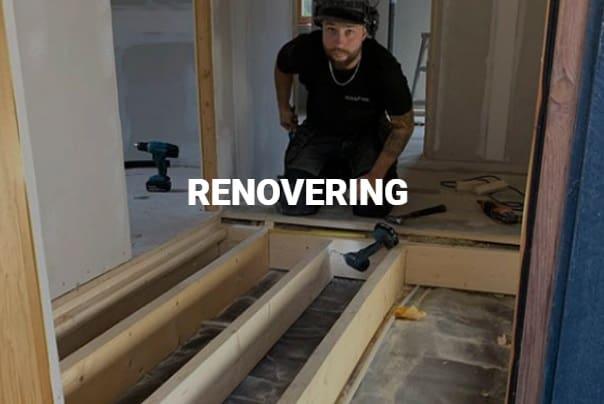 """Referensjobb """"Renovering"""" utfört av HÅLLSÄTTRA BYGG"""