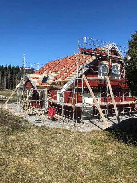 """Referensjobb """""""" utfört av Svenska Trähus Ab"""