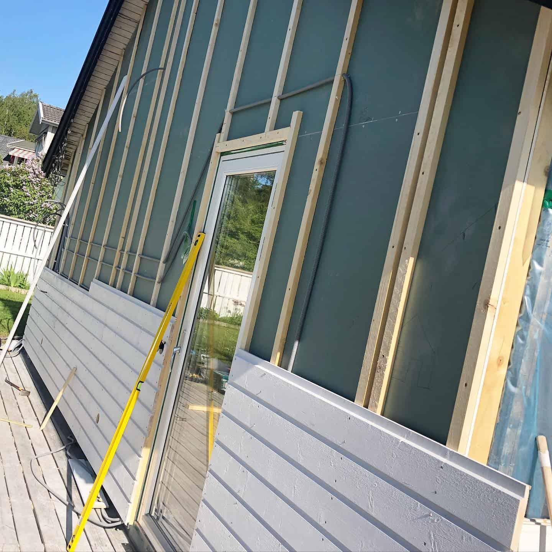 """Referensjobb """"Fasadrenovering"""" utfört av Struktina Förvaltning Aktiebolag"""