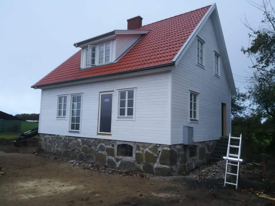 """Referensjobb """"Husrenovering efter."""" utfört av TZM Bygg & renovering AB"""