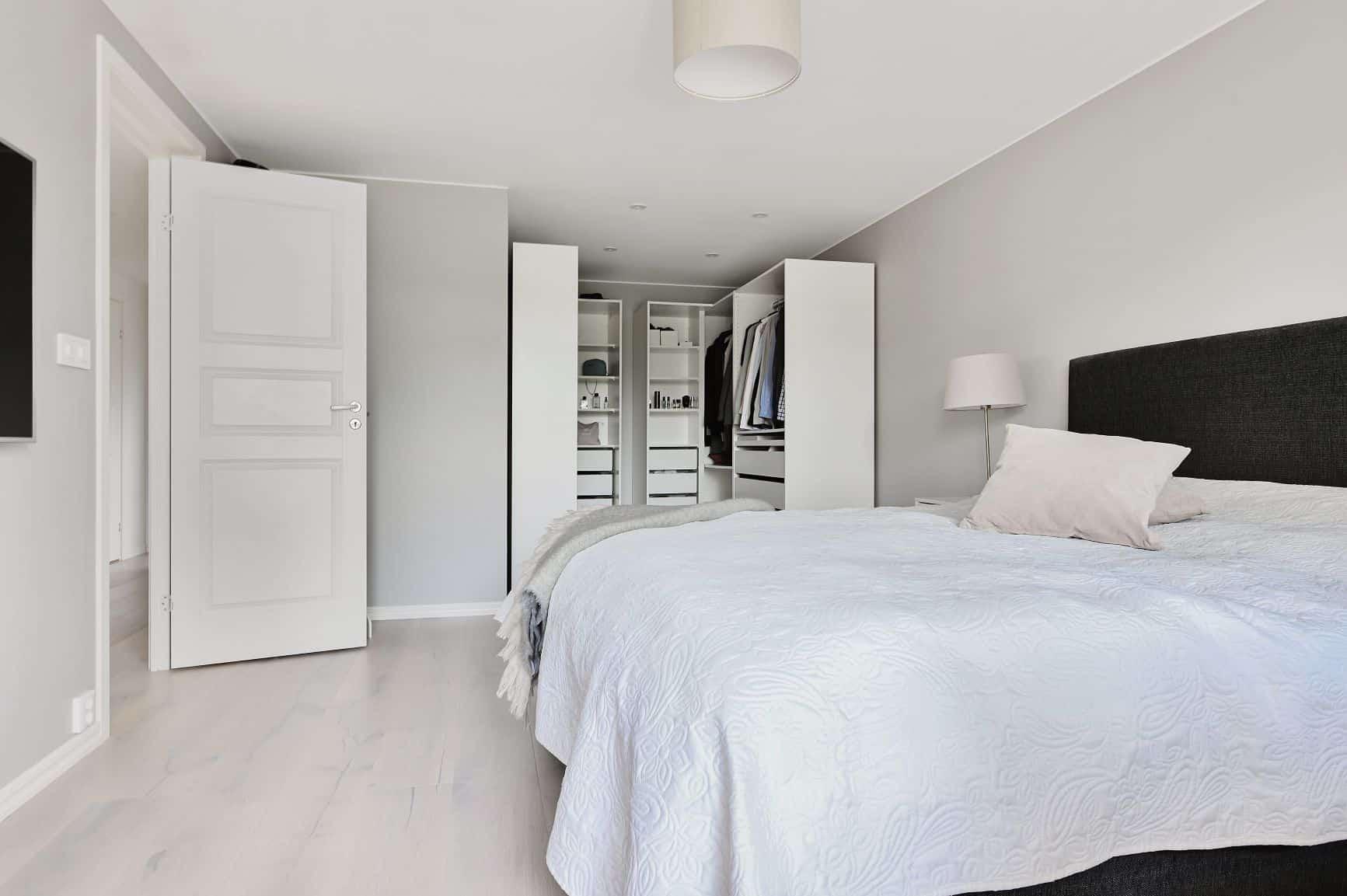 "Referensjobb ""Renovering av sovrum."" utfört av Xp Bygg AB"