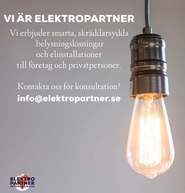 """Referensjobb """""""" utfört av BW Elektropartner International Aktiebolag"""
