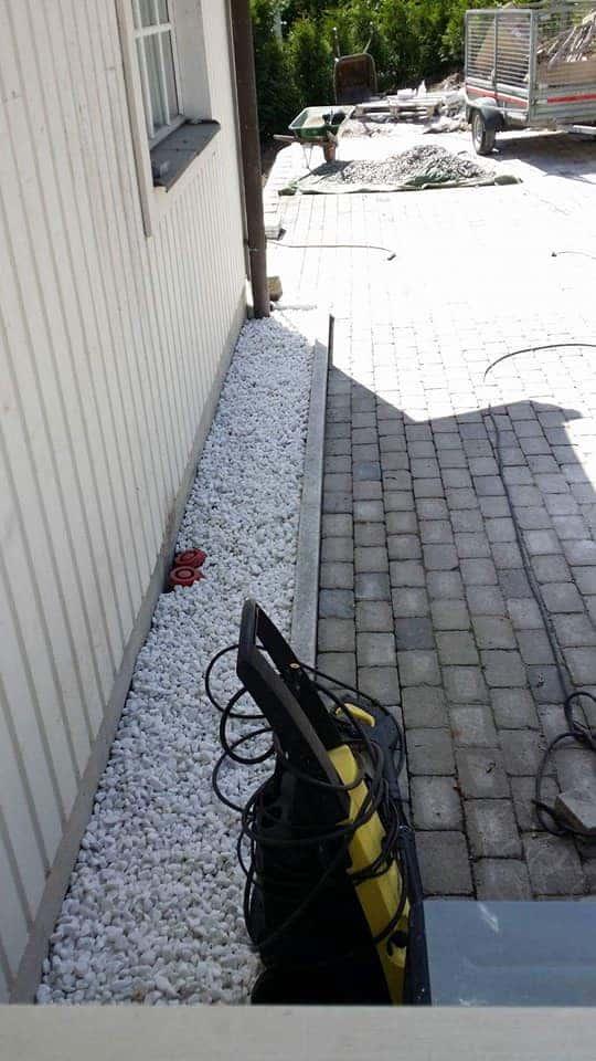 """Referensjobb """"Stenläggning/marksten"""" utfört av CECAR HEM & TRÄDGÅRD"""
