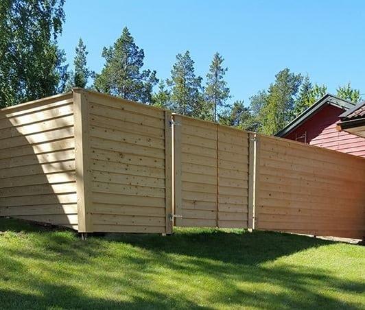 """Referensjobb """"Insynsplank, Björkvik, Värmdö"""" utfört av ProjFast Fastighetsutveckling AB"""