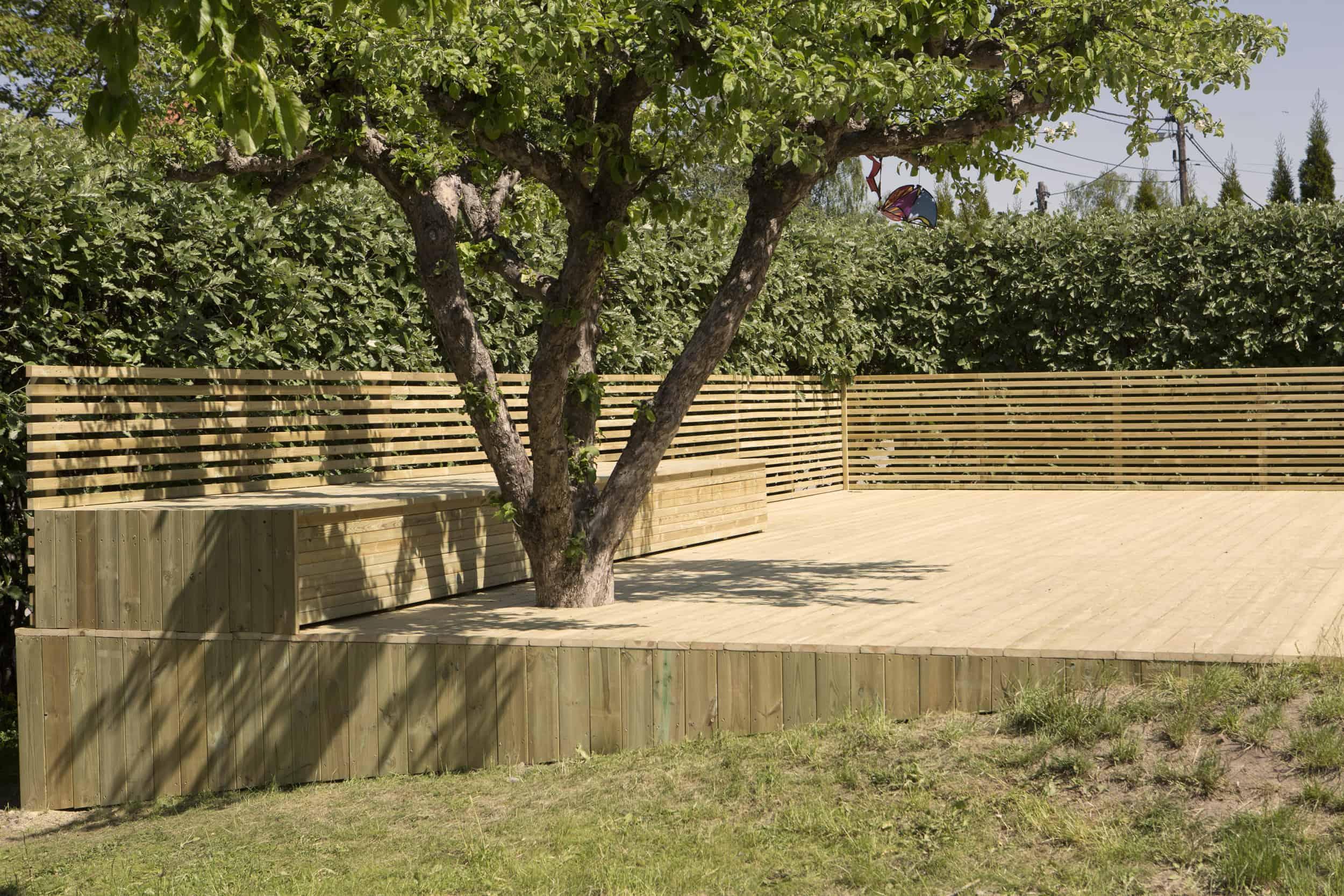 """Referensjobb """"Pool-terrass!"""" utfört av ProjFast Fastighetsutveckling AB"""
