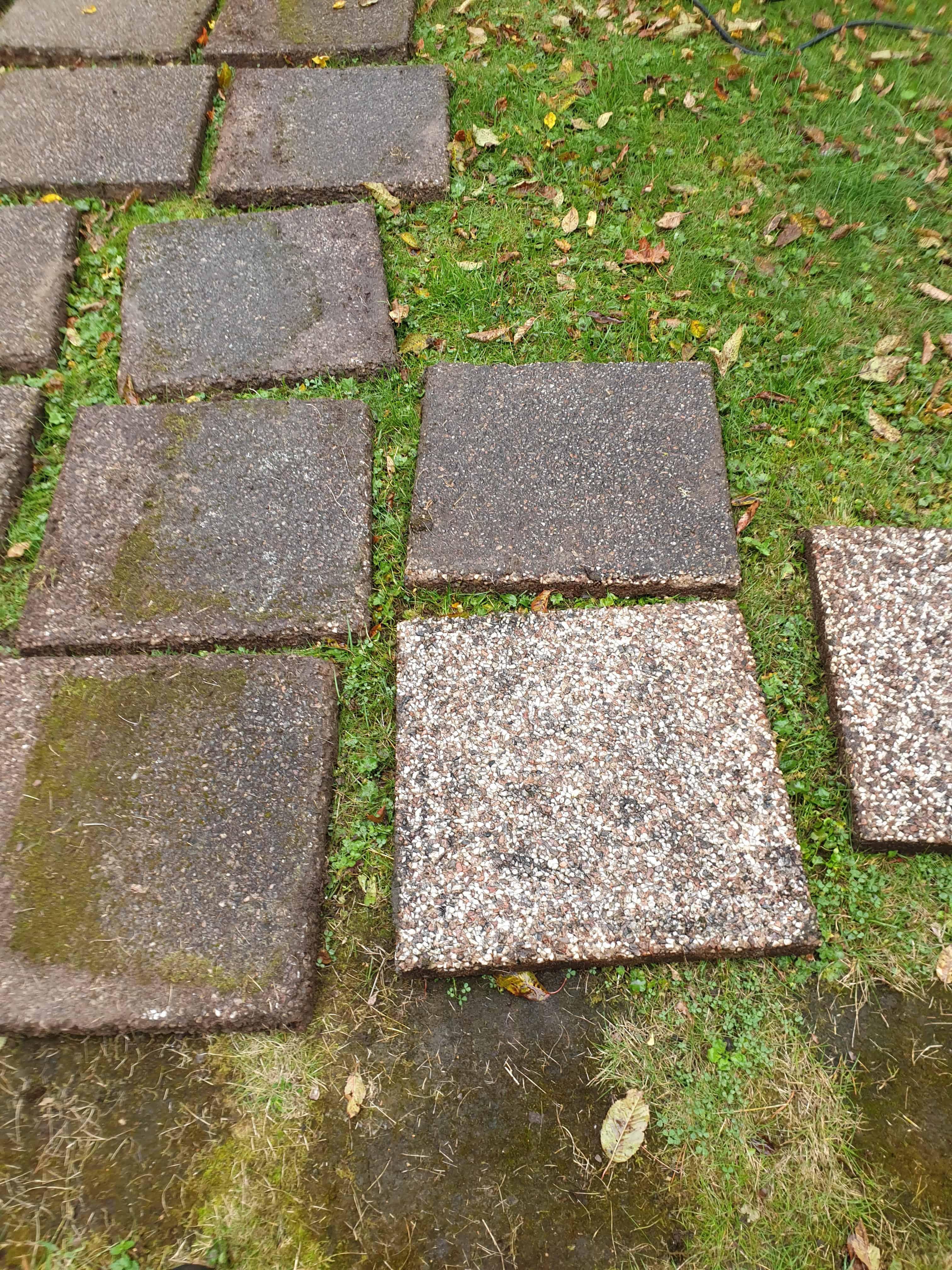 """Referensjobb """"Tvätt av stenplattor"""" utfört av Firma: Mc Mahon, Damian"""