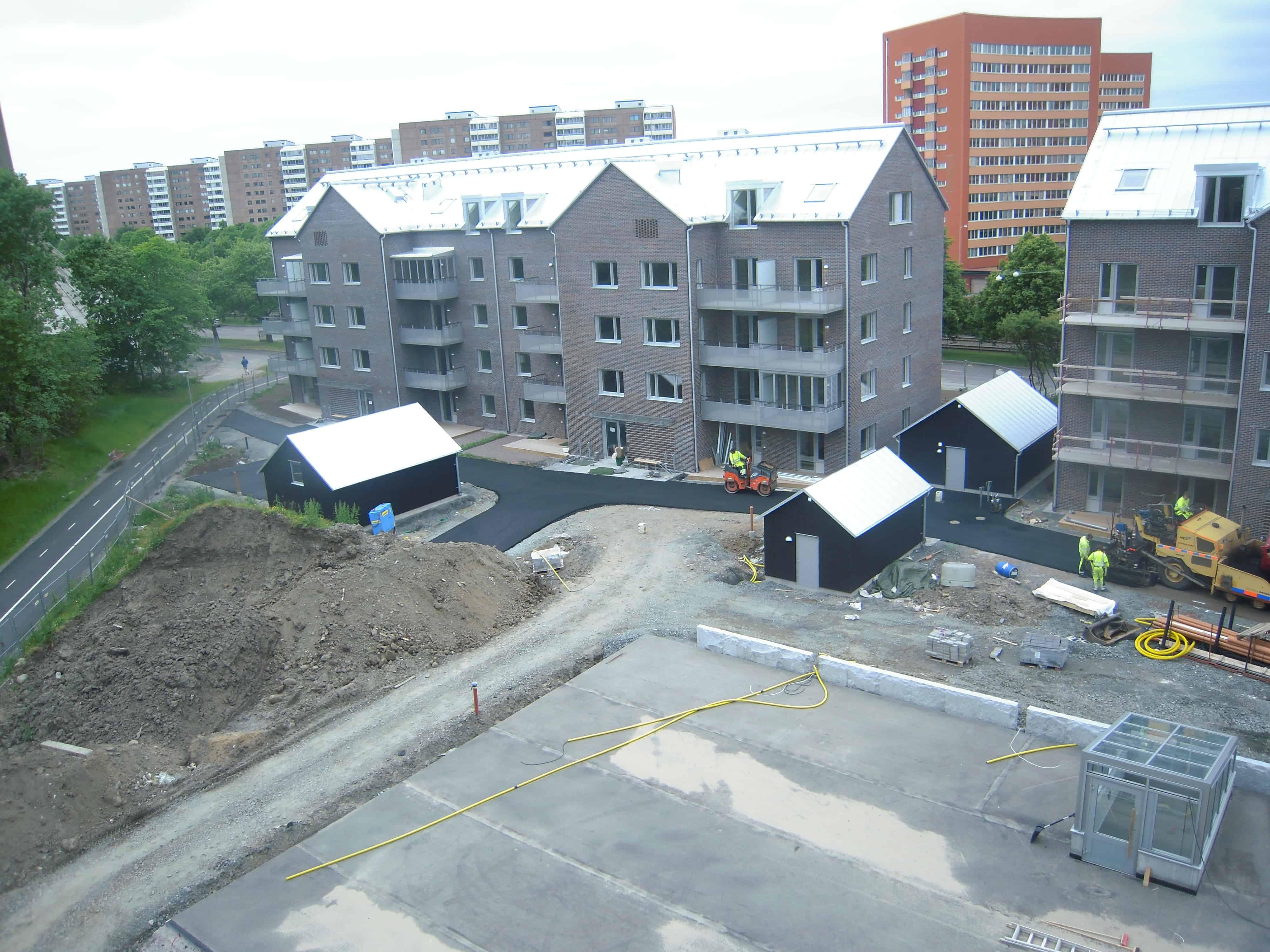 """Referensjobb """"Nybyggnation."""" utfört av GB Bygg & Byggkonsult"""