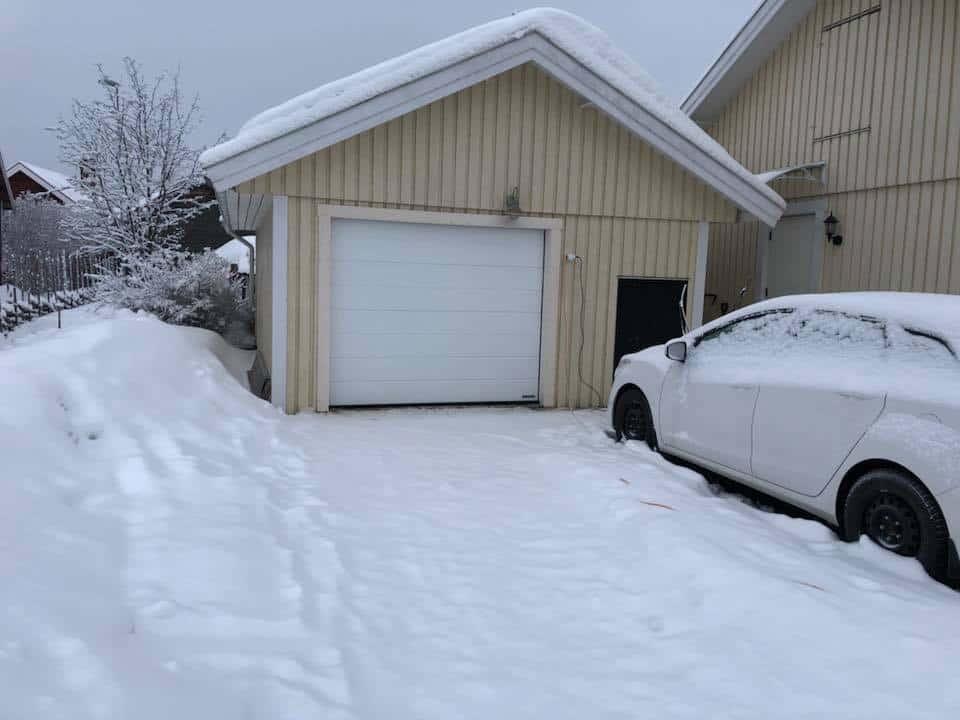 """Referensjobb """"Utbyggnad Garage."""" utfört av Dahlins Byggtjänst AB"""