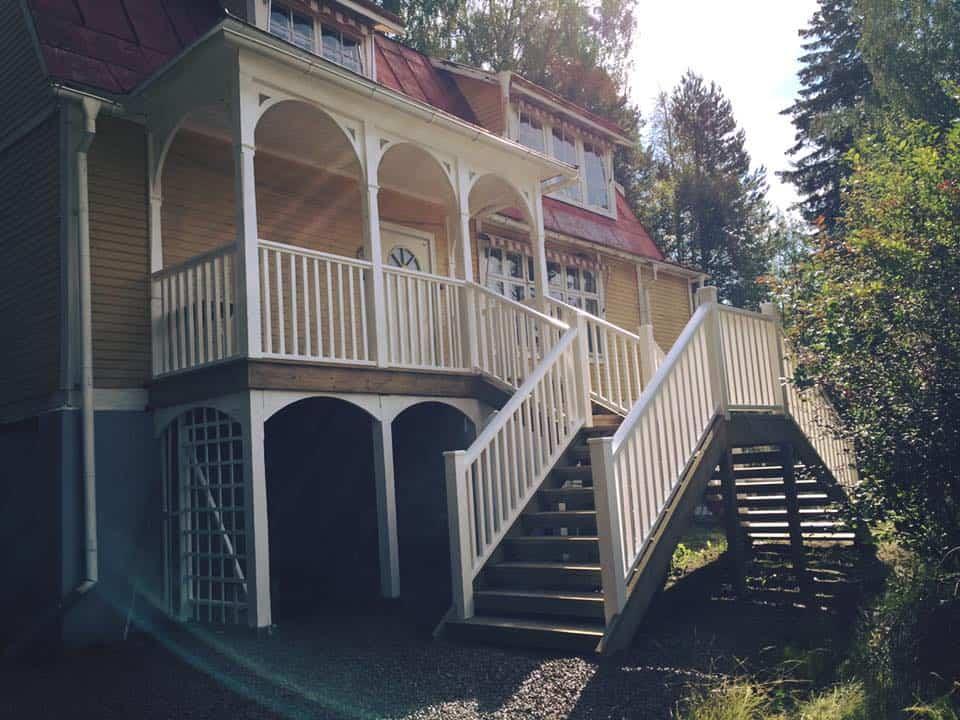 """Referensjobb """"Nybyggd trappa."""" utfört av Dahlins Byggtjänst AB"""